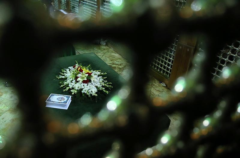 (تصاویر) خانه ابدی آیت الله هاشمی