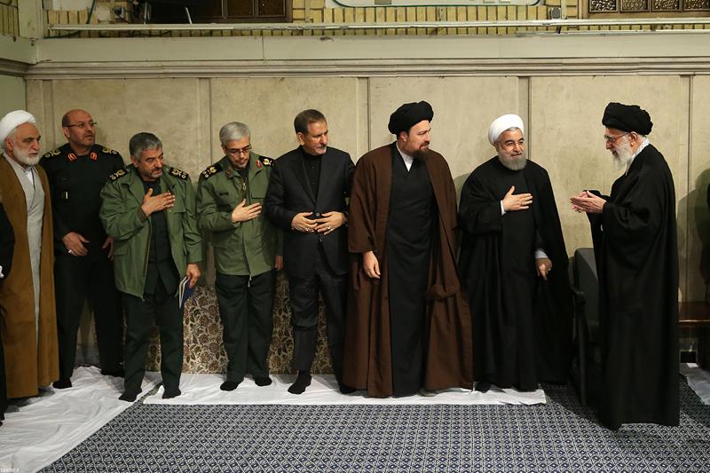(تصاوير) مجلس ترحيم آيتالله هاشمي