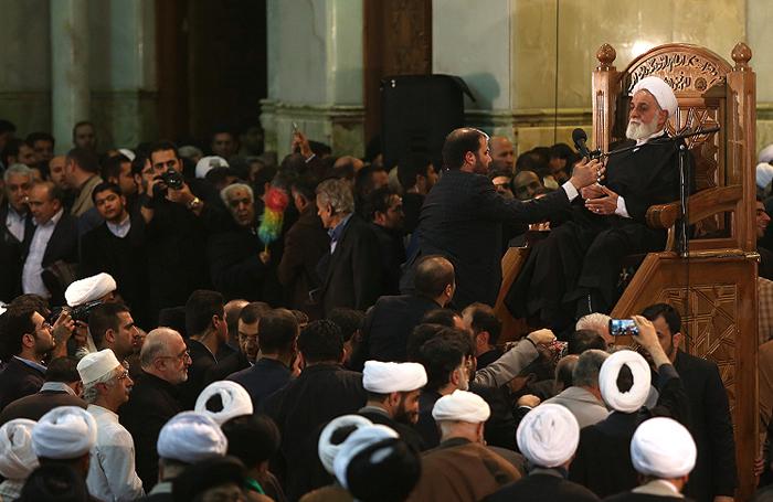 مراسم هفتم مرحوم هاشمی رفسنجانی