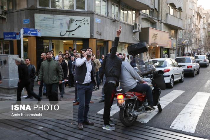 (تصاویر) تماشای ضدهوایی در تهران