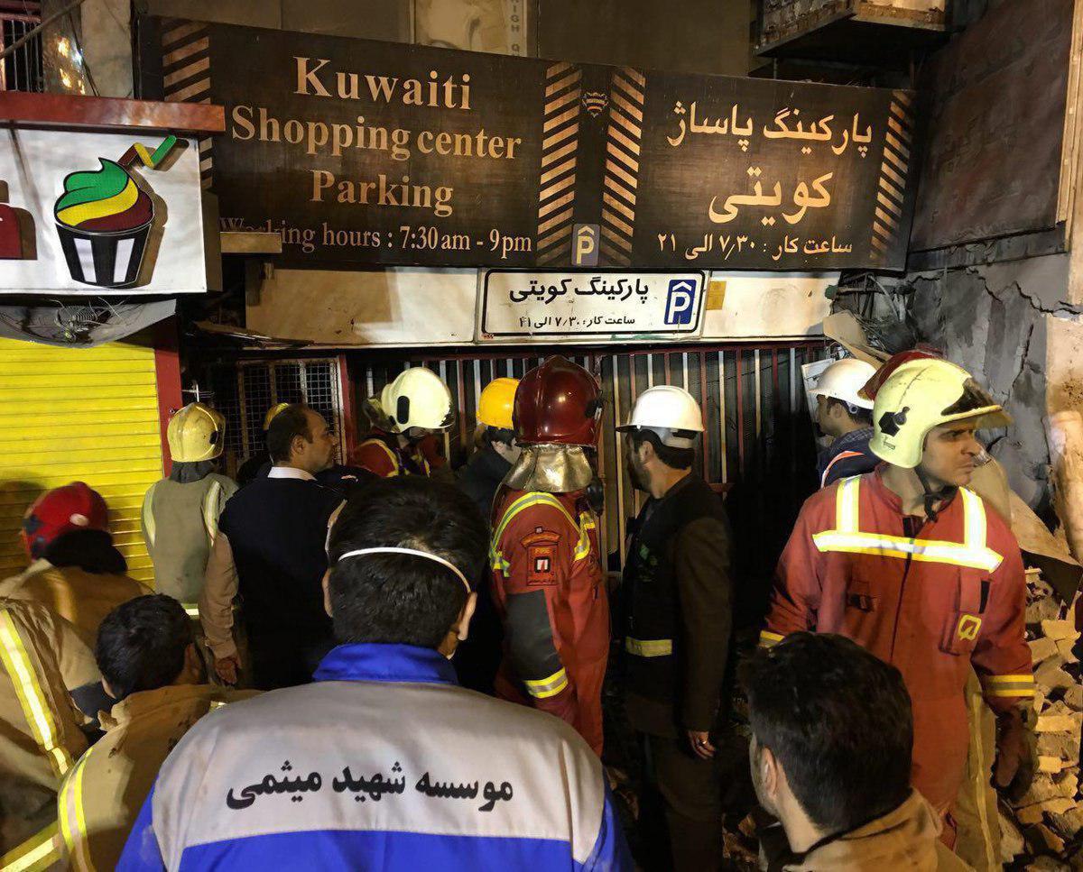 قالیباف: بیش از 20 آتشنشان به شهادت رسیدند