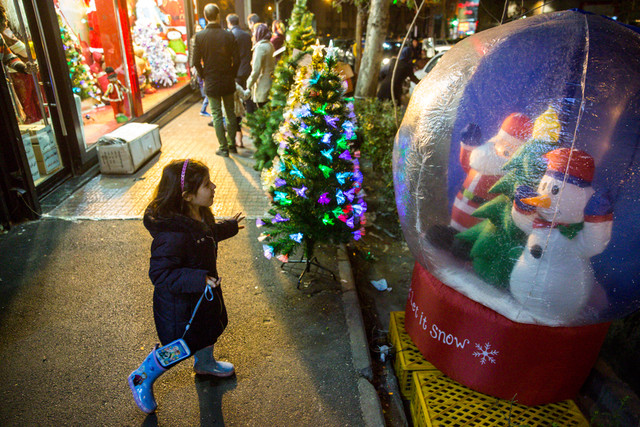 (تصاویر) در بازار کریسمس چه میگذرد؟