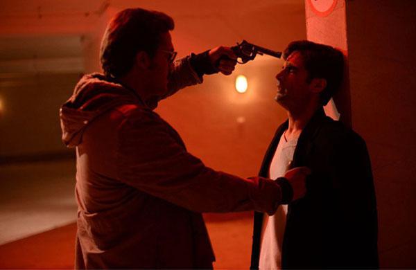 (عکس) گریم متفاوت هومن سیدی در یک فیلم