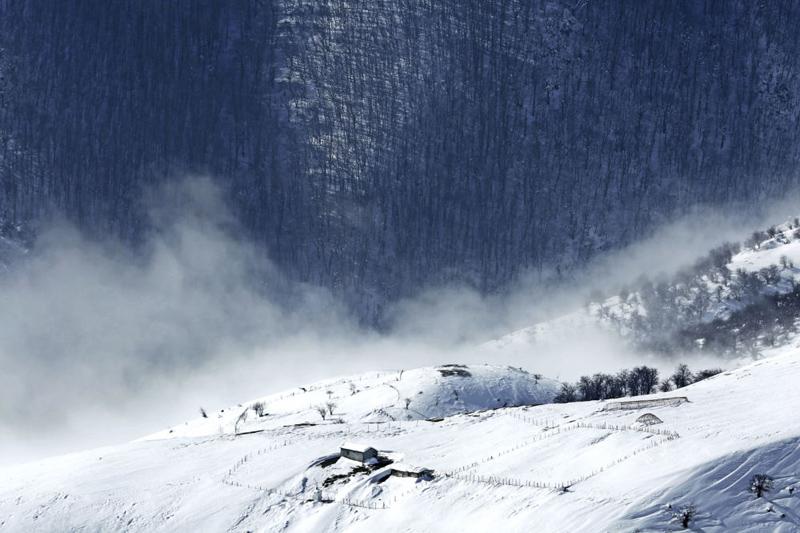 (تصاویر) گزارش خبرگزاری روس از زمستان تالش