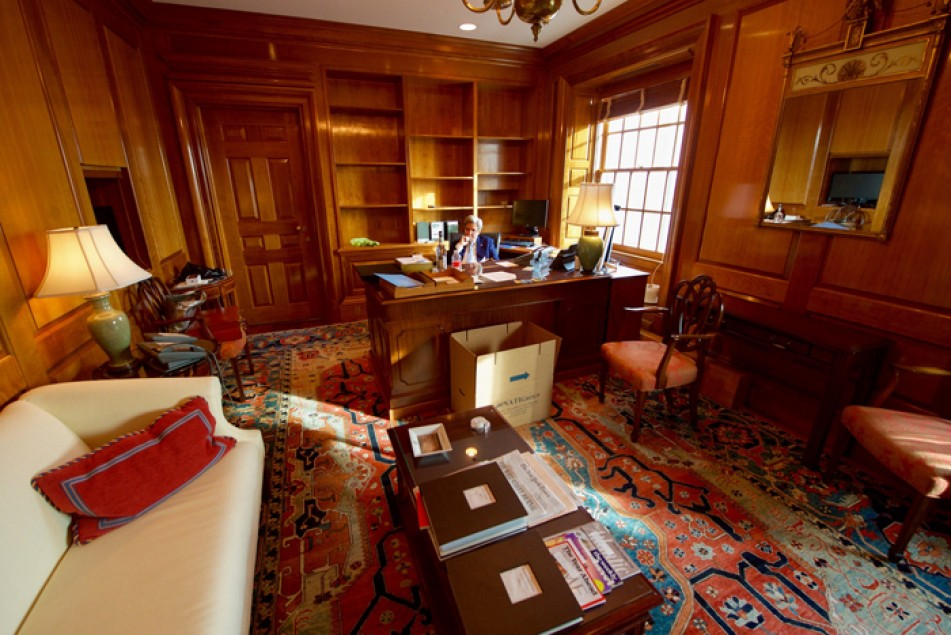 (تصاویر) خداحافظی جان کری با وزارتخارجه