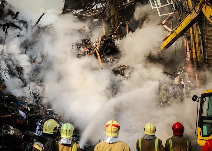 (تصاویر) دومین روز عملیات آواربرداری و نجات