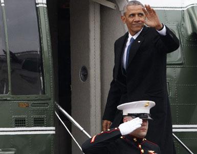 (تصاویر) روز خداحافظیِ باراک اوباما