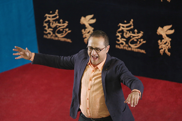 (تصاویر) حضور پرهیجان رامبدجوان در جشنواره