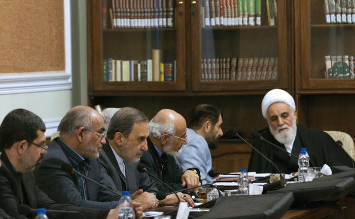 (تصاویر) اولین جلسه مجمع بدون آیتالله هاشمی
