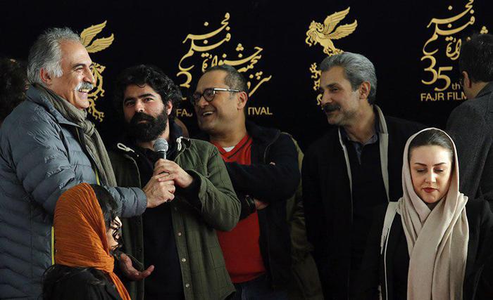 (تصاویر) رامبد جوان و همسرش در جشنواره فجر