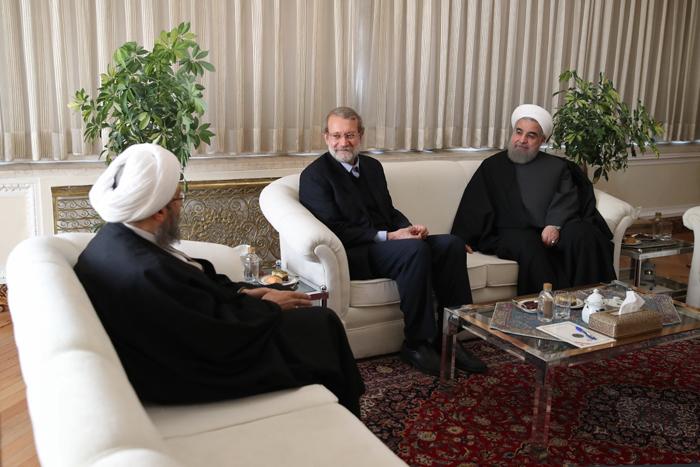 (تصاویر) نشست مشترک سران قوا