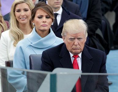 (تصاویر) بانویاول جدید امریکا در مراسم تحلیف
