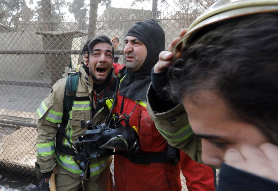 (تصاویر) گزارش اسوشیتدپرس از فاجعه پلاسکو