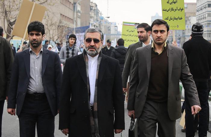 (تصاویر) مقامات و شخصیتها در راهپیمایی 22 بهمن