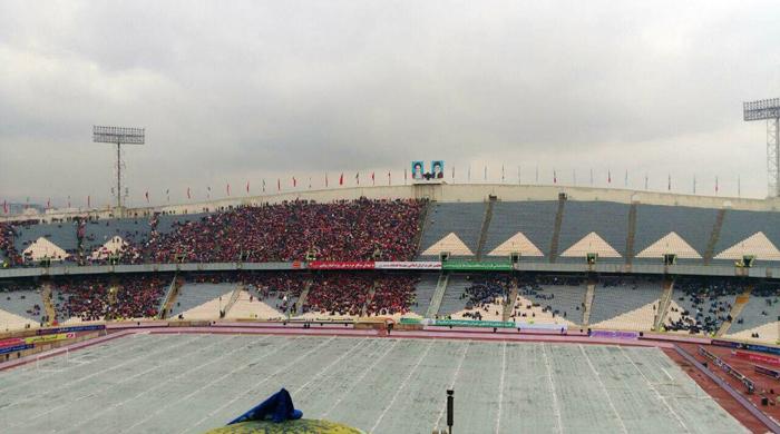 (تصاویر) ورزشگاه آزادی منتظر شروع دربی