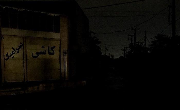 (تصاویر) خاموشیِ اهواز