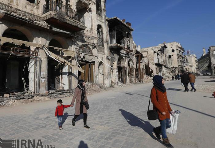 (تصاویر) بازگشت زندگی به حلب