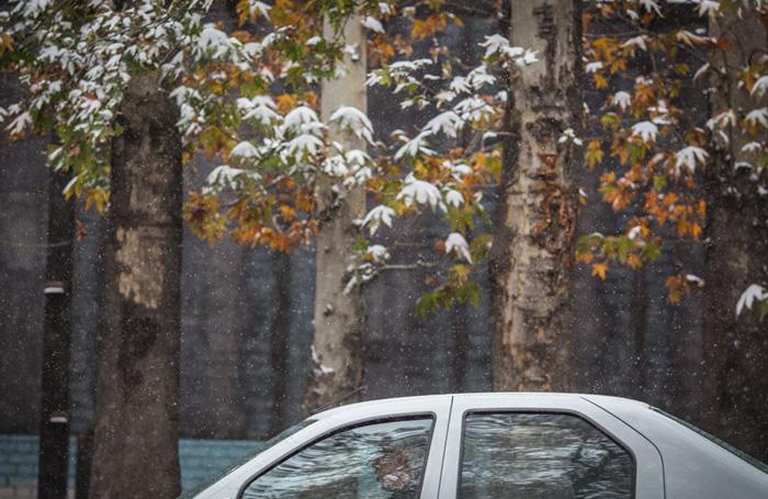 (تصاویر) تهران سفیدپوش شد