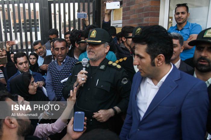 (تصاویر) دومین روز اعتراضات در اهواز
