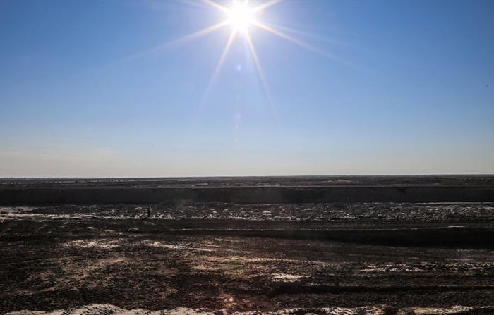 (تصاویر) دریاچه ای که زندگی را با خود برد
