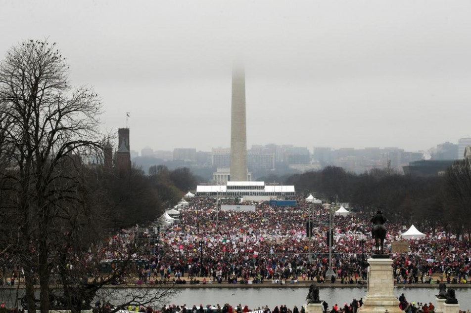 (تصاویر) راهپیمائیِ میلیونی مخالفان ترامپ