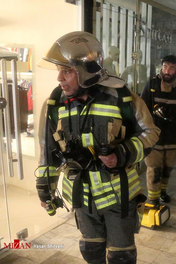 (تصاویر) آخرین لحظات فرمانده شهید آتشنشانان در پلاسکو