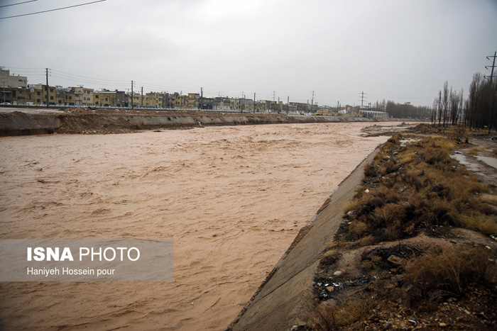 طغیان رودخانهها در شیراز