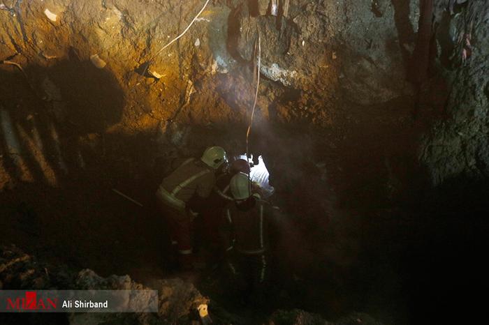 (تصاویر) کشف حفره در پلاسکو