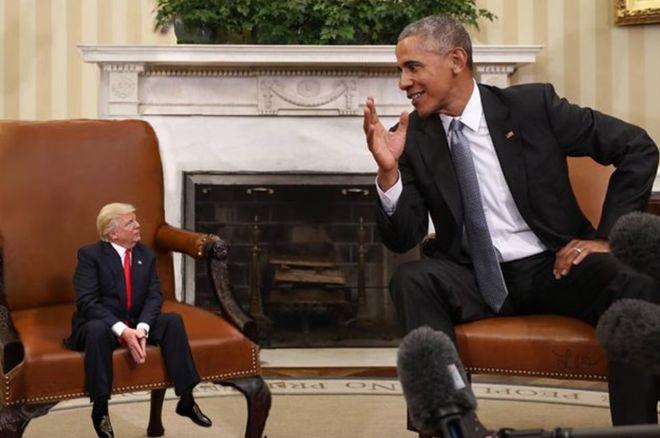 (تصاویر) ترامپ کوتوله!