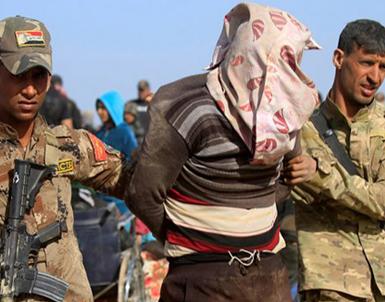 (تصاویر) صحنه رویارویی با داعش در غرب موصل
