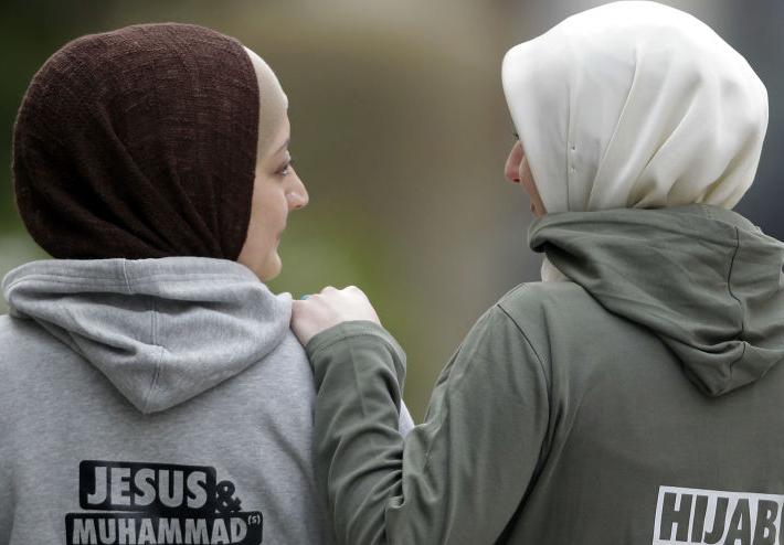 (تصاویر) حجاب زنان مسلمان در اروپا