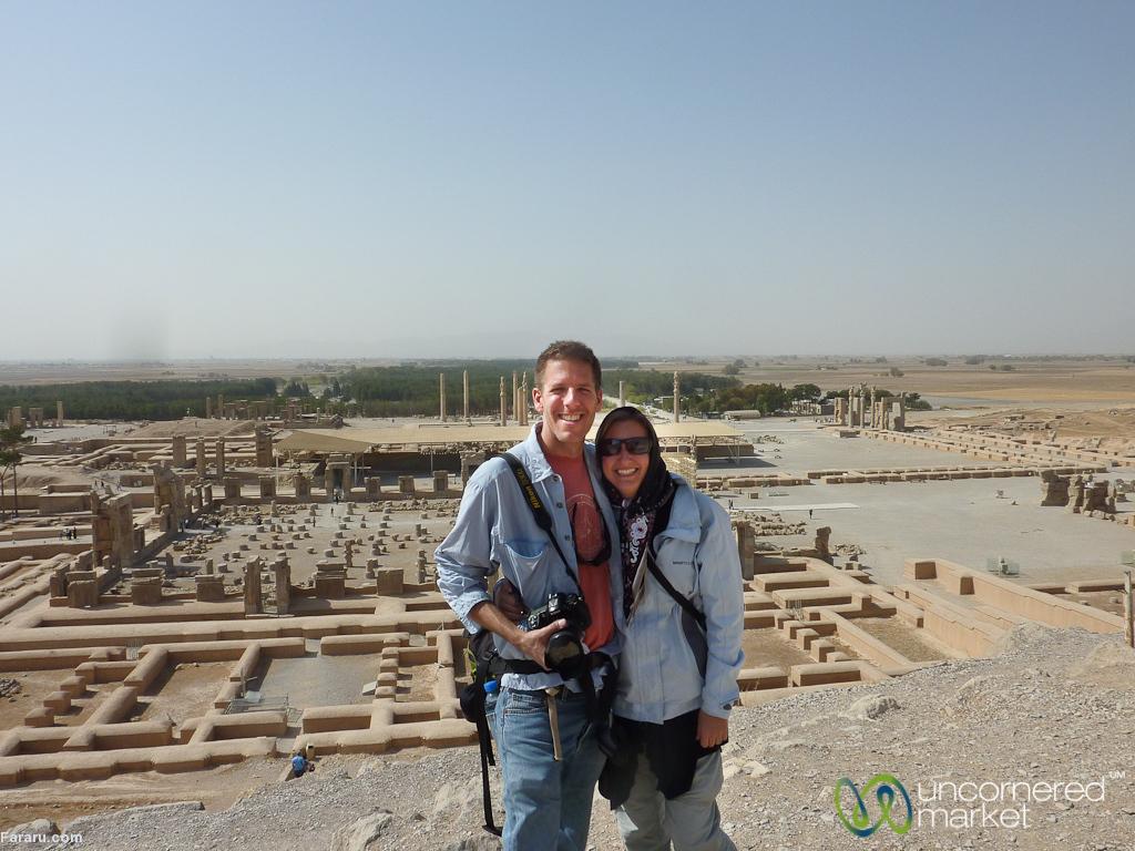 ماجراجوییهای زوج آمریکایی در ایران