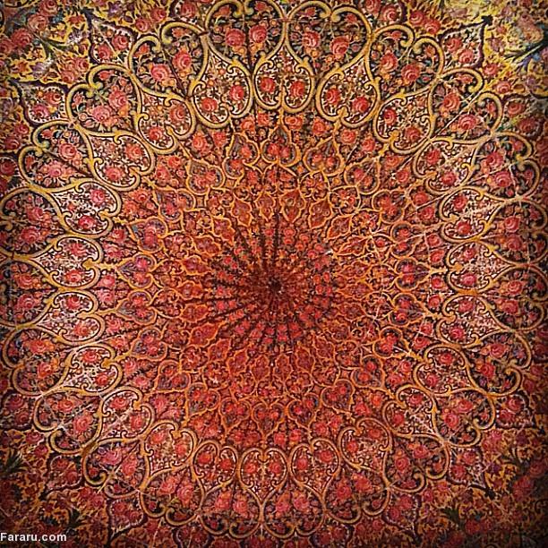 تصاویر نقاشی کعبه گل نرگس
