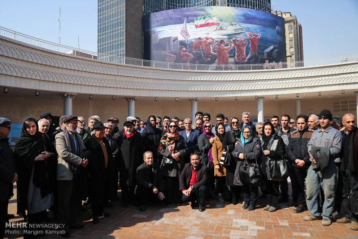 (تصاویر) بازدید از پلازای میدان ولیعصر
