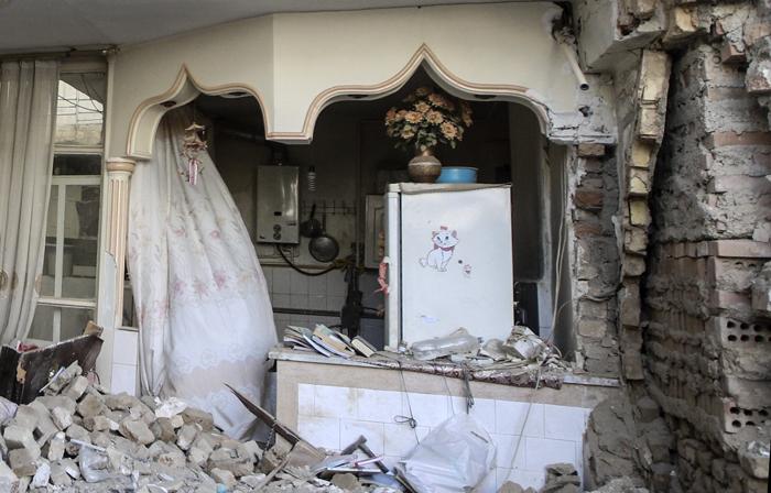 (تصاویر) انفجار مرگبار خانه مسکونی در تهران|2782783
