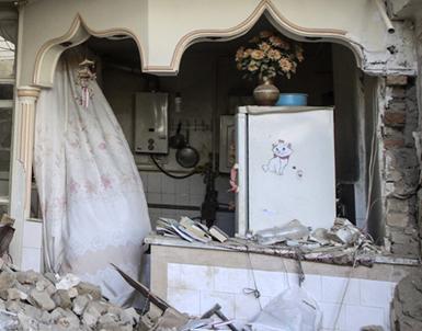 (تصاویر) انفجار مرگبار خانه مسکونی در تهران