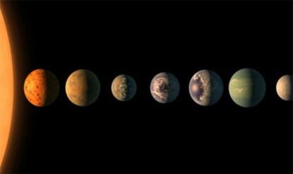 کشف ۷ سیاره سنگی شبیه به زمین