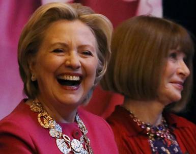 (تصاویر) هیلاری کلینتون پس از شکست در انتخابات