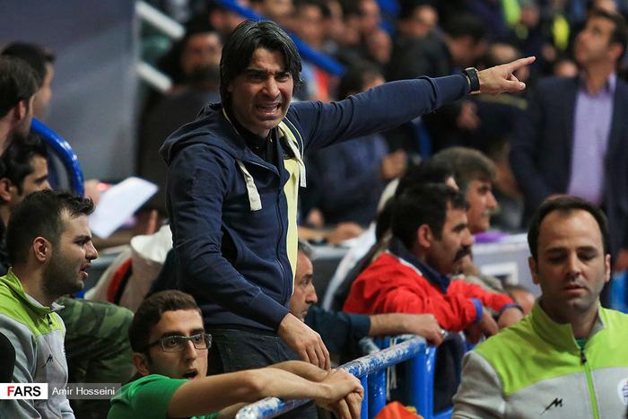(تصاویر) جنجال در لیگ برتر فوتسال