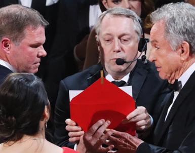 (تصاویر) اتفاق بی سابقه در مراسم اسکار