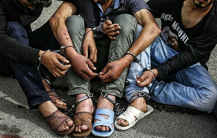 (تصاویر) دستگیری 131 زورگیر در تهران