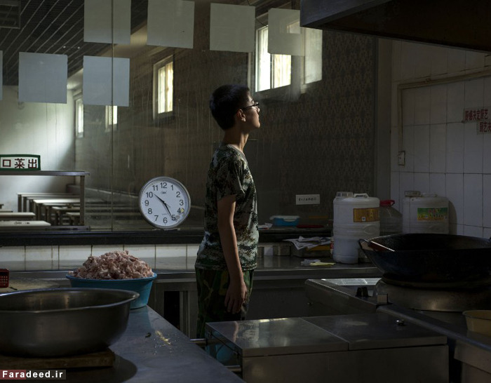 (تصاویر) کمپ ترک اعتیاد به اینترنت