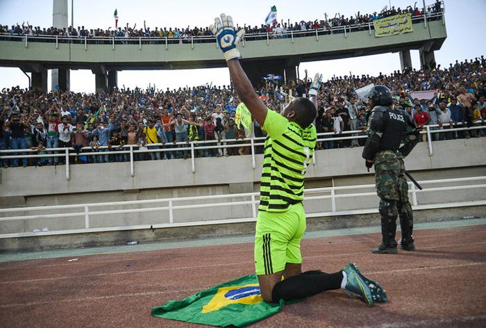 (تصاویر) جشن قهرمانی در اهواز