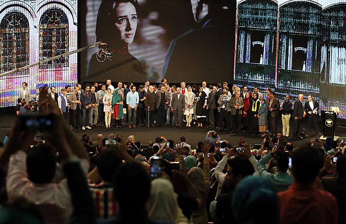 (تصاویر) جشن اختتامیه سریال شهرزاد
