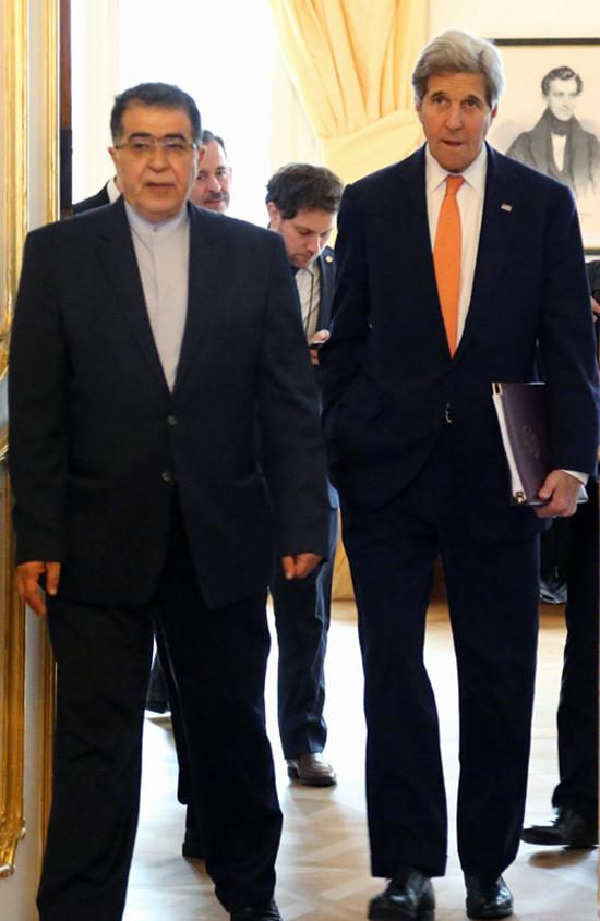 (تصاویر) دیدار ظریف و کری در وین