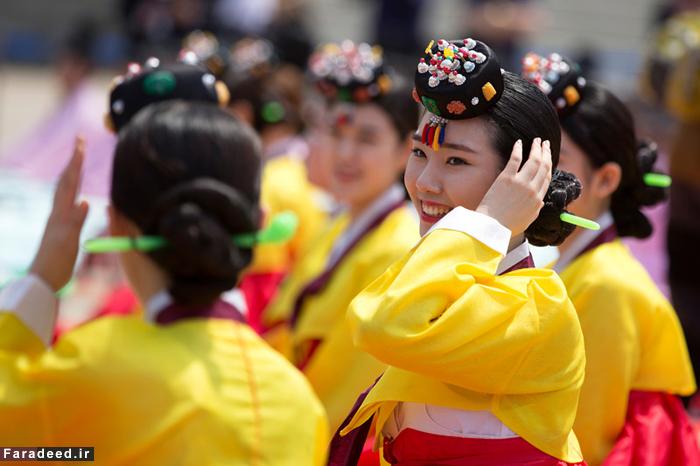 (تصاویر) جشن بلوغ دختران در کرهجنوبی