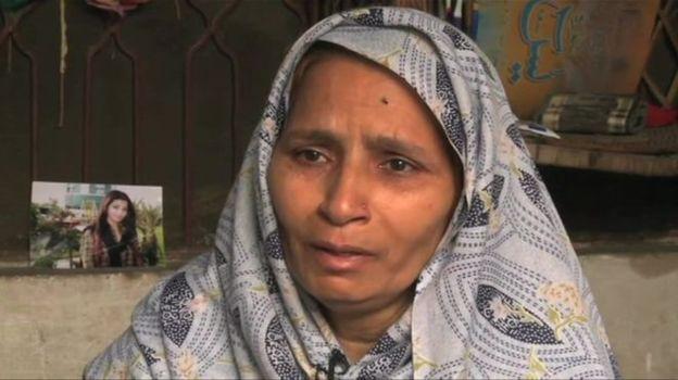 خبرنگار زنی که در پاکستان ناپدید شد