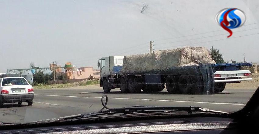 (تصاویر) کاروان حامل اس-300 در راه تهران