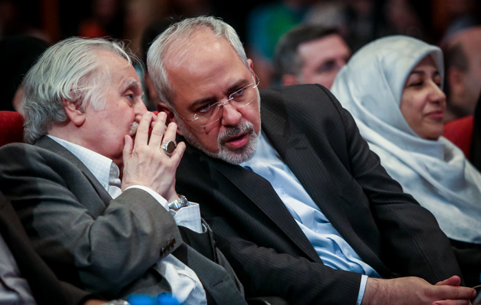 (تصاویر) ظریف و همسرش در اختتامیه جشنواره فیلم سبز