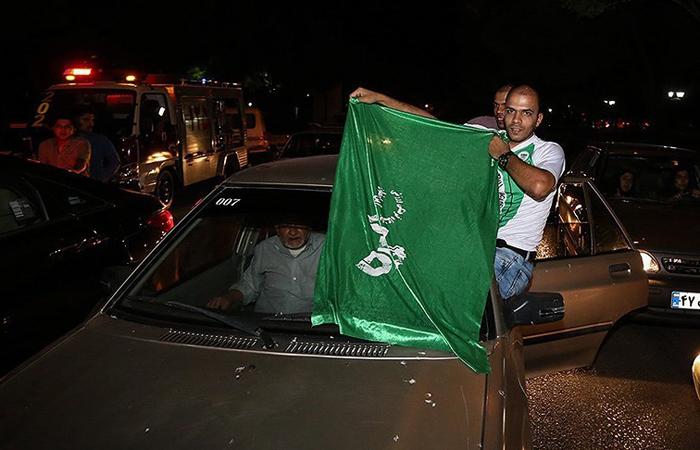 (تصاویر) جشن و شادمانی در اصفهان